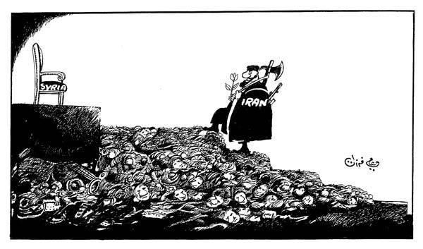 ali ferzat - علي فرزات-  كاريكاتير - مخابرات - 724