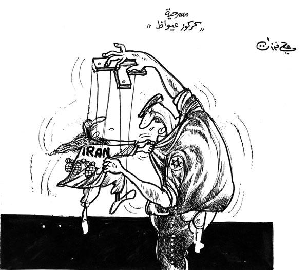 ali ferzat - علي فرزات-  كاريكاتير - عسكرتاريا - 731